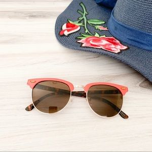 UO A Sunny Place For Shady People Retro Sunglasses